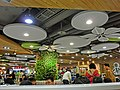 TW 台灣 Taiwan 桃園國際機場 Taoyuan International Airport 新東陽美食廣場 Hsin Tung Yang Food Court ceiling Feb-2013.JPG