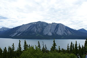 "Tagish Lake (meteorite) - Tagish Lake in northwestern British Columbia, the site of the ""Tagish Lake"" meteorite fall"