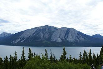 """Tagish Lake (meteorite) - Tagish Lake in northwestern British Columbia, the site of the """"Tagish Lake"""" meteorite fall"""