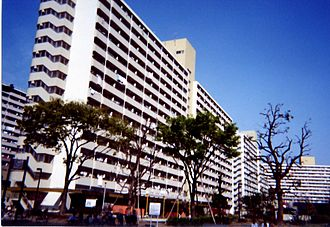 Itabashi - Tall apartments in Takashimadaira