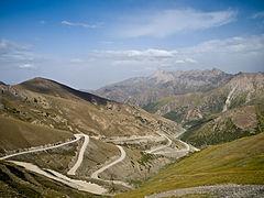 Taldyk pass (3600 m)