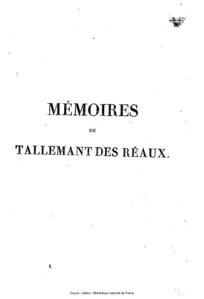 File:Tallemant des Réaux - Les historiettes, tome 2.djvu