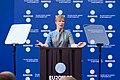 Tallinn Digital Summit opening address by Kersti Kaljulaid, President of the Republic of Estonia Kersti Kaljulaid (37340189446).jpg