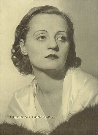 "Fabia Drake - Drake worked with Tallulah Bankhead (above) on Roland Pertwee's The Creaking Chair. Bankhead was 23, Drake 20. Bankhead found Drake's virginity an absurdity: ""Such a shocking waste, Dahrling, with your figure."" They became genuine, if unlikely, friends; Tallulah was a wit, with warmth and generosity."