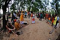 Tarun Khyapa and Ananda Khyapa with Group - Baul Song Performance - Saturday Haat - Sonajhuri - Birbhum 2014-06-28 5325.JPG