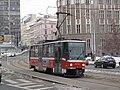 Tatra T6A5 na Olšanském náměstí.jpg