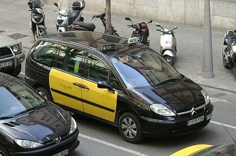 Taxi App in Barcelona