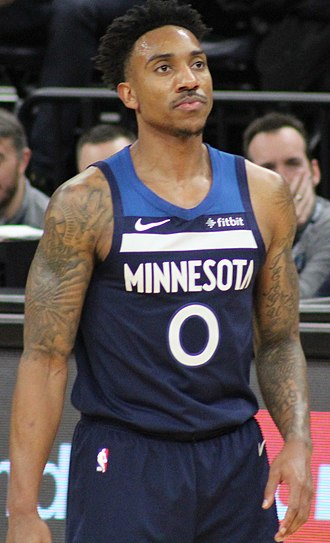 Jeff Teague (basketball) - Teague with the Timberwolves in 2019