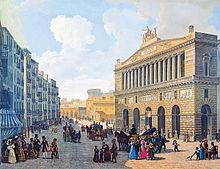 Teatro di San Carlo, c. 1830 (Source: Wikimedia)