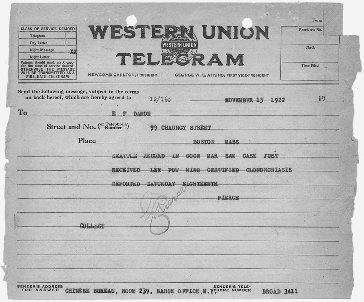 File:Telegram confirming receipt of records - NARA - 278558.tif