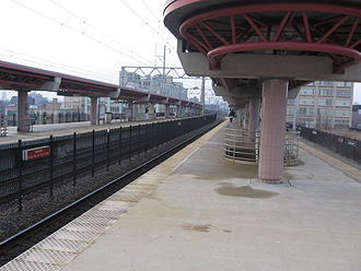 Temple University station - Image: Temple Station 2