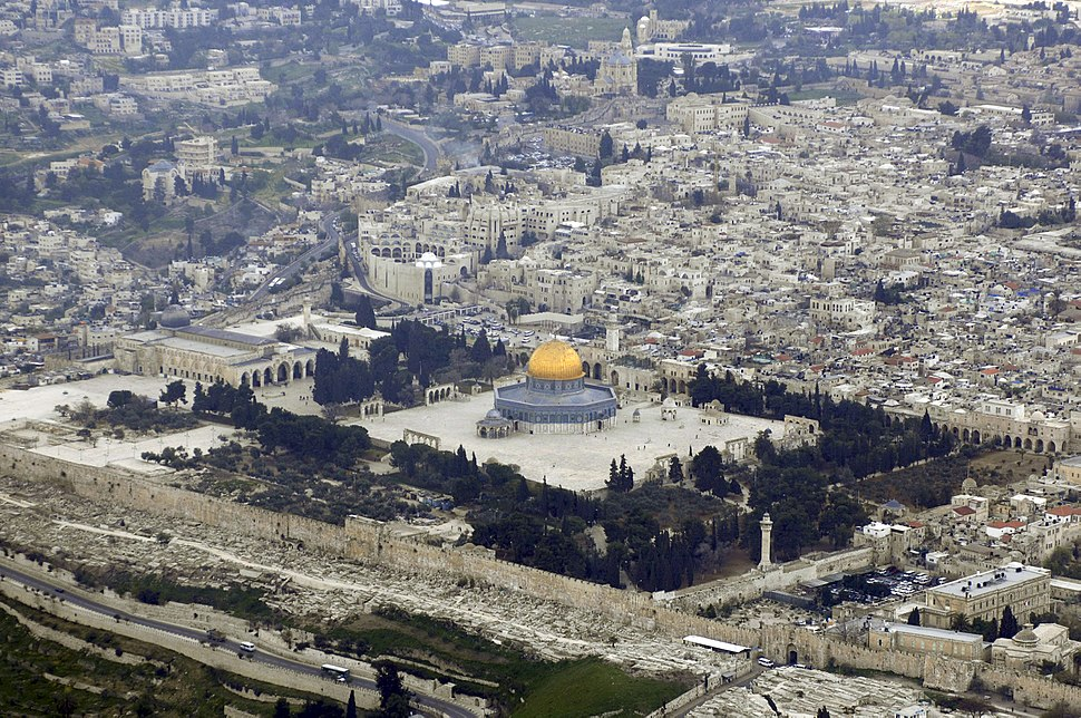 Temple Mount (Aerial view, 2007) 03