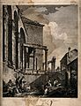 Temple of Jupiter, Spalato (Split). Engraving by F. Bartoloz Wellcome V0014509.jpg