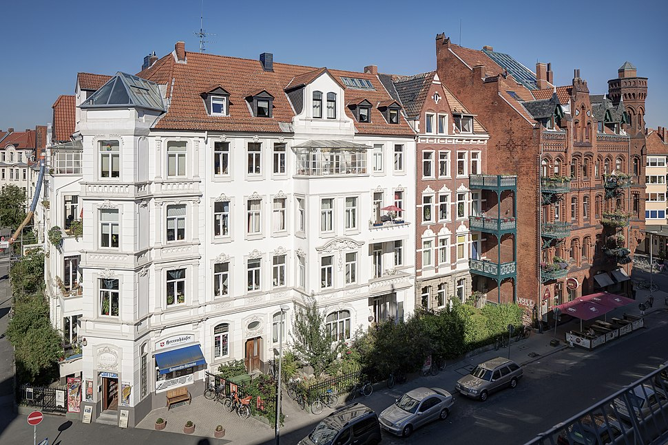 Tenement Building Callinstrasse Hanover Germany