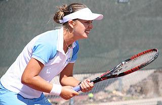 Tetiana Luzhanska Ukrainian-American tennis player