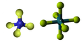 Tetrafluoroammonium hexafluoroantimonate3D.png