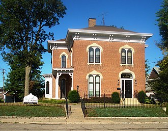 National Register of Historic Places listings in Marshall County, Iowa - Image: Thaddeus Binford House