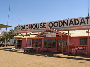 Oodnadatta - The Pink Roadhouse at Oodnadatta