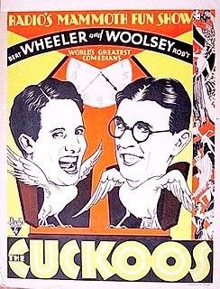 <i>The Cuckoos</i> (1930 film) 1930 film by Paul Sloane