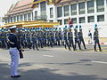 The 1st Cavalry Squadron, King's Guard in the procession of Princess Galyani Vadhana's royal urn.jpg