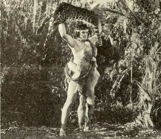 Tarzan - Tarzan's agility, speed, and strength allow him to kill a Leopard in 1921's The Adventures of Tarzan.