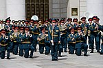 The Central Military Band of the Ministry of Defense of Russia performing.jpg