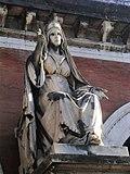 The Charity represented in statue, Verano Monumental Cemetery, Rome.jpg