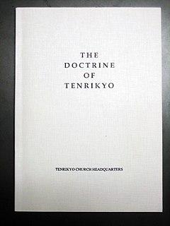 The Doctrine of Tenrikyo 1903 doctrine of the Tenrikyo religion