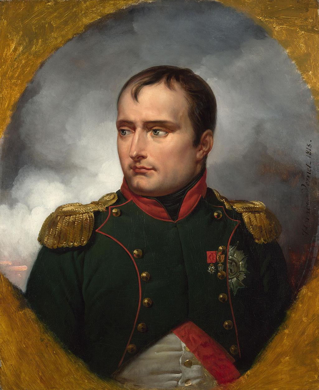 """The Emperor Napoleon I"" by Horace Vernet"