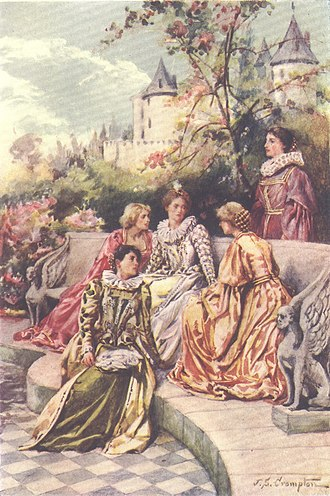 Mary Hamilton - How the Four Maries were depicted in an Edwardian children's history book