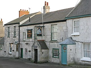 18th-century public house on the Isle of Portland, Dorset, England