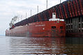 The Great Lakes Trader docks in the upper harbor, Marquette, Michigan..jpg