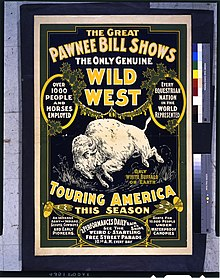 The Great Pawnee Bill shows. The only genuine wild west. Touring America ... LCCN94504458.jpg