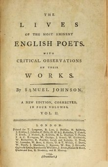 The Lives of the Most Eminent English Poets, Volume 2.djvu