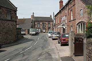 Ipstones village in United Kingdom