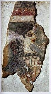 Minoan fresco from Knossos, Crete