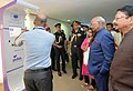 The President, Shri Ram Nath Kovind visiting an exhibition on Department of Atomic Energy (DAE) technologies at Bhabha Atomic Research Centre (BARC), in Trombay, Mumbai (2).JPG