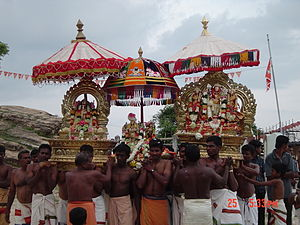 Utsava - A procession at Koneswaram temple, Sri Lanka