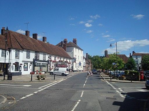 The Square, Lenham - geograph.org.uk - 1946471