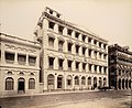 The Times of India building opposite St. Thomas' Cathedral and connected with Elphinstone Circle, July 1898.jpg