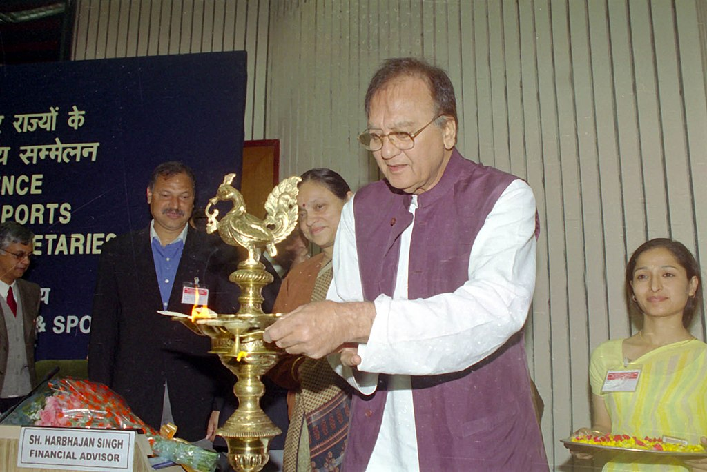 File:The Union Minister for Youth Affairs and Sports, Shri ...