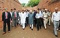 The Vice President, Shri M. Hamid Ansari visiting the ancient Nalanda University Ruins, in Nalanda, Bihar.jpg