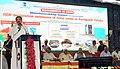 The Vice President, Shri M. Venkaiah Naidu addressing the gathering after inaugurating the 'Swachhta Hi Sewa' and 'A Crusade for Toilets' programmes under Swachh Bharat Abhiyan, at Konnur Village, Gadag District, Karnataka (1).jpg