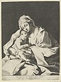 The Virgin holding the infant Christ on her lap, after Reni MET DP841762.jpg