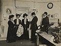 The arrest of Flora Drummond, Emmeline and Christabel Pankhurst, 1908. (22505757768).jpg