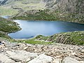 The ascent of the Miners' Track from the shores of Glaslyn - geograph.org.uk - 445732.jpg