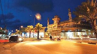 Kattankudy Town in Sri Lanka