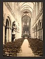 The cathedral, interior, Bayeux, France-LCCN2001697570.jpg