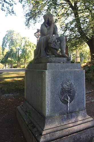 James Fillans - The grave of James Fillans, Woodside Cemetery, Paisley