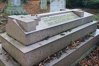 Richard Graves MacDonnell - The grave of Sir Richard Graves MacDonnell, Kensal Green Cemetery